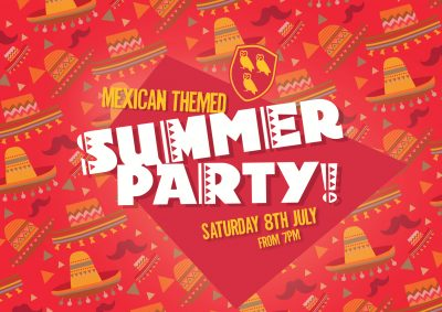 Mexican Themed Summer Party at Kennington Cricket Club